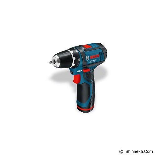 BOSCH Cordless Drill Driver [GSR 10,8-2-LI] - Bor Mesin